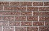Painel de parede isolado gravado da folha calor metálico