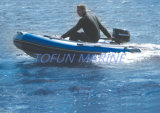 Hypalon/PVC de Opblaasbare Boot van de Rib (RIB250)