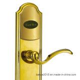 Карточки RF высокия уровня безопасности замок двери Mortise гостиницы селитебной электронной франтовской