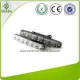 indicatore luminoso corrente di giorno bianco DRL di 12V 6 LED LED