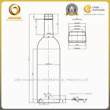 Bottiglia di vetro del Bordeaux libero 750ml del campione per vino rosso (038)