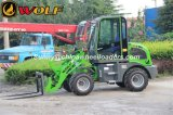 O carregador da roda Zl08 com motor de Changchai/engata rapidamente para a venda
