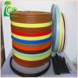 bordure foncée solide des graines/configurations PVC de couleur de qualité de 2mm/en bois pour des meubles