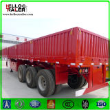 Chine 3 axes 50ton Sidewall Cargo Trailer for Sale