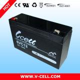 6V SLA/VRLA/Mf Sealed Lead Acid AGM Battery 12ah