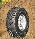 El terreno SUV del fango 4*4 pone un neumático Lt305/70r16