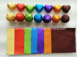 Alta calidad del papel de aluminio del rodillo de caramelo y chocolate de envolver