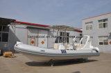 Le type fibre de verre de sport de Liya 6.2m de yacht décortique la vente de bateau de côte
