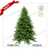 Árvore de Natal artificial azul da árvore 7FT PE+PVC do verde da costa do lago com bom preço