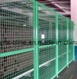 倉庫の区分の鋼線の塀