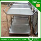 Carretilla al por mayor de la cabina de cocina del acero inoxidable de la compra para el restaurante