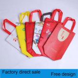 Sacs de vêtement feuilletants de sac non-tissé, sacs à provisions