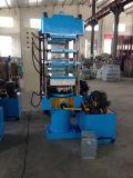Solas de borracha que fazem a máquina/imprensa hidráulica de borracha (450X450X3/1.00MN)
