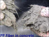 PP / Fibra de Pet Engineering para Concreto