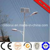 2 anni della garanzia LED di indicatore luminoso di via solare Integrated, il Ce solare dell'indicatore luminoso di via del LED 40W, RoHS hanno approvato IP67