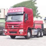 371HPエンジンの頑丈なトラックとのHOWOのSinotruckのトラクターのトラックヘッド