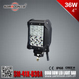 4 de Vierling Row CREE LED Car Driving Light Bar van de duim 36W (sm-41x-036A)