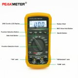 Multímetro digital de Peakmeter Ms8233D com medida da freqüência