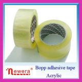 Cinta de empaquetado adhesiva del rasgón fácil de BOPP