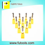 Metal Cutting를 위한 텅스텐 Carbide Ball Nose End Mill Tools