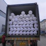 Tissu plat en plastique de géotextile tissé par pp de pp Slik