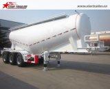 30-35ton 대량 시멘트 유조선 시멘트 운반대 트럭 트레일러