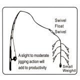 Attraits doux lumineux de pêche de Sabiki d'équipements de crevette de silicones 5