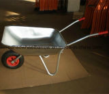 Wheelbarrow galvanizado mercado Wb5204 da bandeja do russo