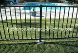Cerca de aço revestida da parte superior lisa do pó para a piscina