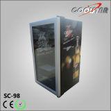 De algemene Koelkast van de Staaf van de Compressor Mini zonder Diepvriezer (SC98)