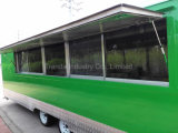 Nouveau 2017 7 X 23 V-Nose Enclosed Food Car Van Loaded Package de course Mobile Food Trailer