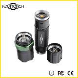 Lâmpada de alumínio cobrando rápida do diodo emissor de luz do foco de Zoomable (NK-1860)