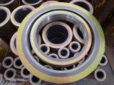 Junta espiral de la herida para el sello hidráulico de la bomba del borde de válvula