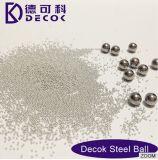Het opgepoetste Gebied van het Aluminium van de Bal van het Staal van de Ballen van het Roestvrij staal Malende Stevige