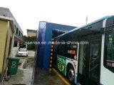 Conducir a través de la máquina automática de la colada de coche para el omnibus y el carro