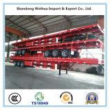 高品質の中国の工場からの半40FTの平面の容器のトレーラー