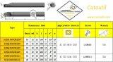 S12m-Ssscr/L09 para Hardmetal de aço que combina a barra aborrecida de giro padrão das ferramentas