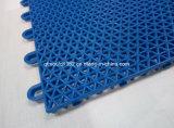 Étage en plastique de verrouillage extérieur de cour de sport de ping-pong de pp