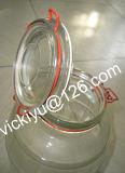 Recipiente grande, frascos de armazenamento grandes, grande vidro de conservação