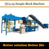 Машина делать кирпича Индий цемента Qt4-25 Dongyue