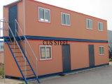 Tamaño flexible y de bajo coste de casa prefabricadas / Casa del envase