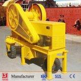 Yuhong CER anerkannte kleine Steinzerquetschenmaschinen-kleine bewegliche Steinkiefer-Brecheranlage-Pflanze