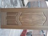 Piel natural de la puerta del molde HDF de la teca de Tailandia/de la chapa de Chreey