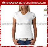Cotton su ordinazione T-Shirts per Women (ELTWTJ-294)