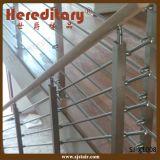 Балюстрада конструкции решетки нержавеющей стали материальная для лестницы (SJ-X1008)