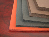 Лист резины губки силикона, экстренный выпуск листа пенистого каучука силикона для утюживя таблицы и промышленное уплотнение