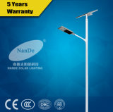 Iluminación solar de la calle LED con el panel solar