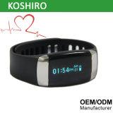 ECG를 가진 OLED Bluetooth 심박수 지능적인 시계