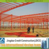容易低価格の組立て式に作られた鉄骨構造の建物インストールすれば