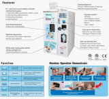 máquina macia automática vending do gelado